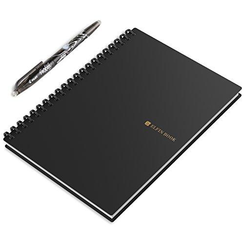 [해외]쉽게 클라우드 화~ 반복 사용할 수있는 스마트 노트 ELFIN BOOK 전자 노트 전자 노트 패드 전자 노트 대학 노트 캠퍼스 노트 학습 노트 스케치북 평생 사용 사무실 교실 일기/Easy to cloud and use repeatedly Smart note ELFIN BOOK Electronic no...