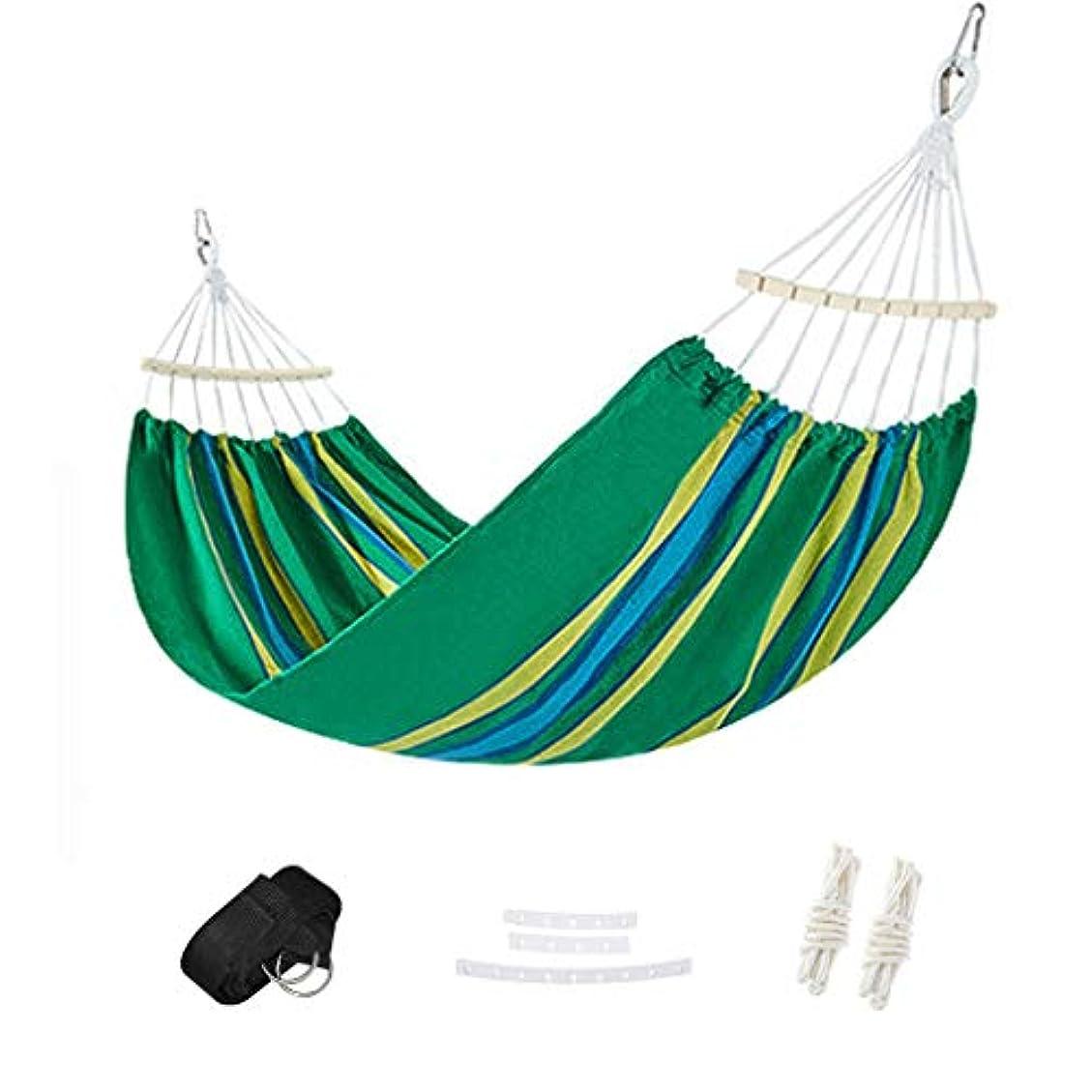 航空便疎外するアリーナハンモックキャンプビーチスイングベッドロールオーバー防止バランスコットンキャンバス簡単にポーチ、屋外および屋内用