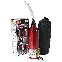 エマーソン ガソリン携行缶 1000cc EM-134 アルミボトル 超軽量150g 収納袋付き [消防法適合品 UN] 鋼板厚0.8mm EMERSON EM134