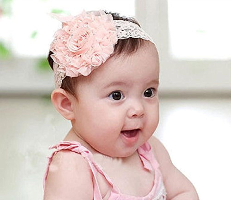 ホットセール。新生児赤ちゃんガールズフラワーヘッドバンドゴムバンドヘアバンドヘアアクセサリー新しい