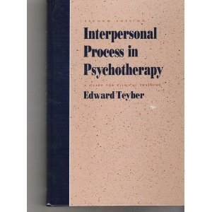Download Interpersonal Process in Psychotherapy: A Guide for Clinical Training 0534169201