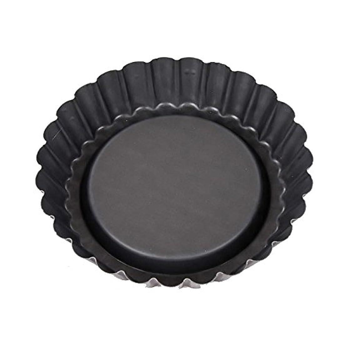 誕生日花架空のPatisse Nonstick Flan Tin Pan, 9.8cm, Black