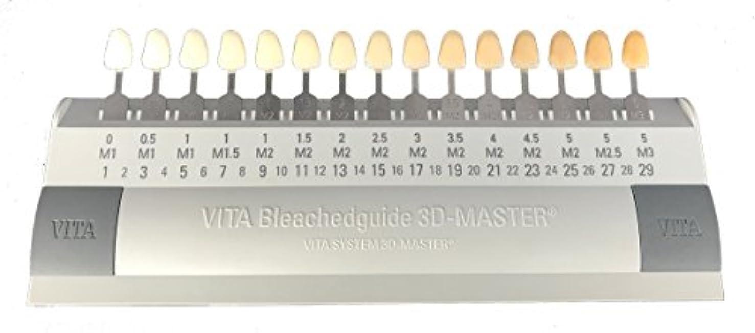 人に関する限りマントスカルクビタ VITA ブリーチシェードガイド3Dマスター 15色