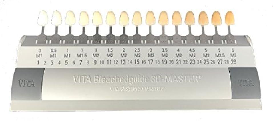 密接に通訳原稿ビタ VITA ブリーチシェードガイド3Dマスター 15色