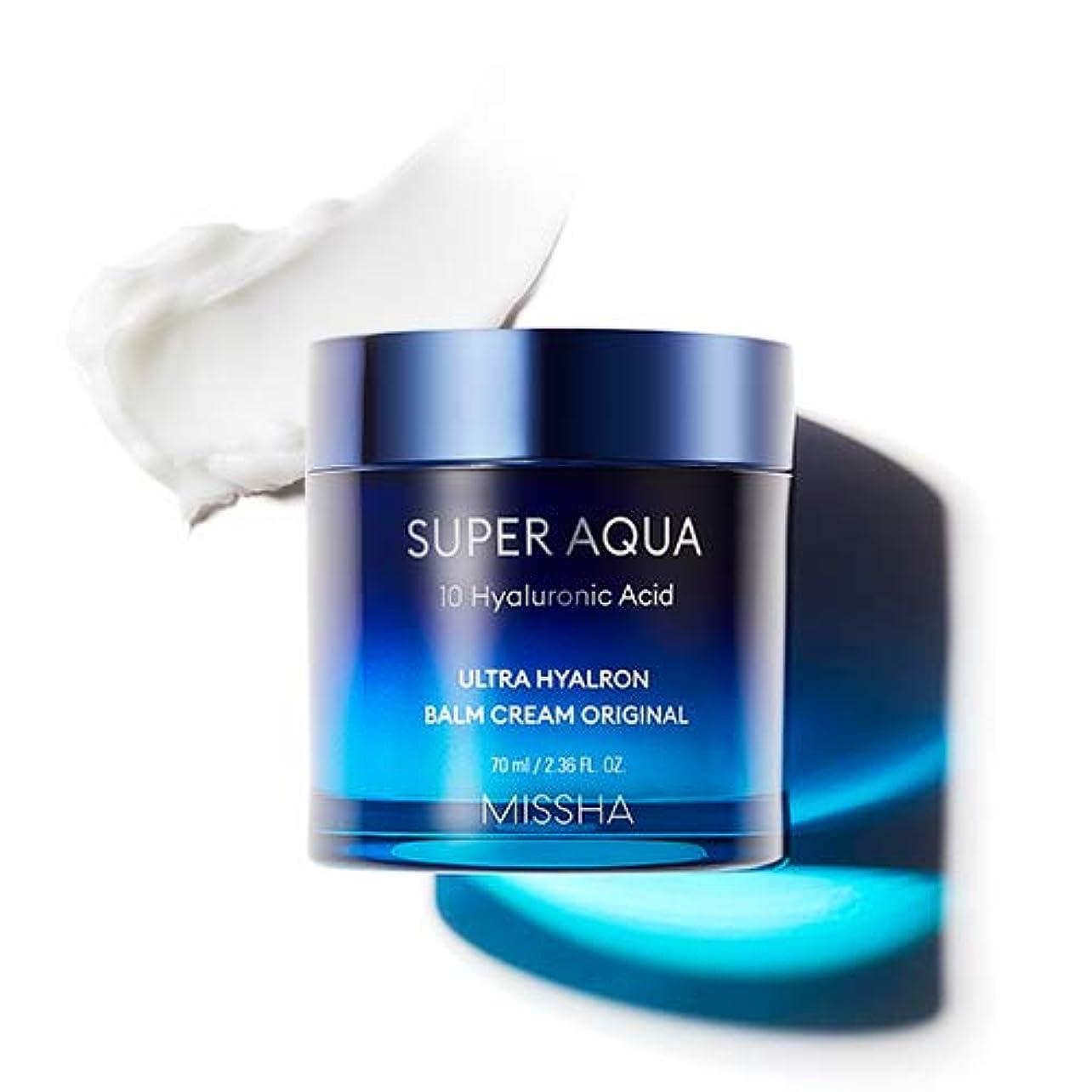 美容師暖炉捧げるMISSHA Super Aqua Ultra Hyalron Balm Cream Original ミシャ スーパーアクア ウルトラ ヒアルロン バーム クリーム オリジナル 70ml [並行輸入品]