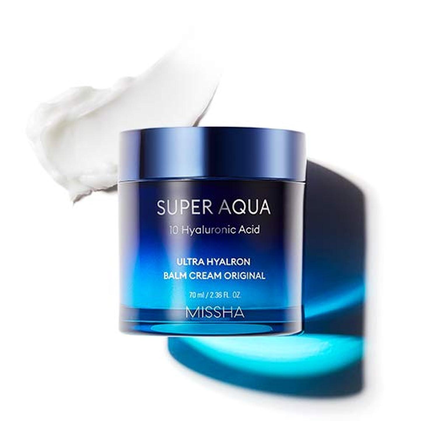 インデックスのみシチリアMISSHA Super Aqua Ultra Hyalron Balm Cream Original ミシャ スーパーアクア ウルトラ ヒアルロン バーム クリーム オリジナル 70ml [並行輸入品]