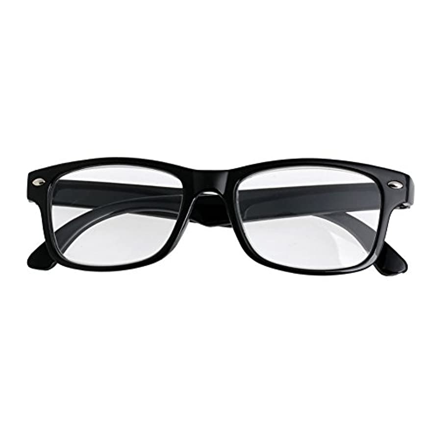 バナー推定素子jackyeeみんなのメガネホーム老眼鏡+350クラシックブラックフレームレトロスタイルスプリング老眼鏡リーダー+1.0-4.0