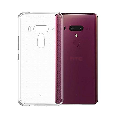 HTC U12 Plus ケース TopACE クリア スリム TPU カバ...