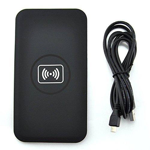 Qiチー対応ワイヤレス充電器(USB供給)スマホ タブレット 置くだけ充電器