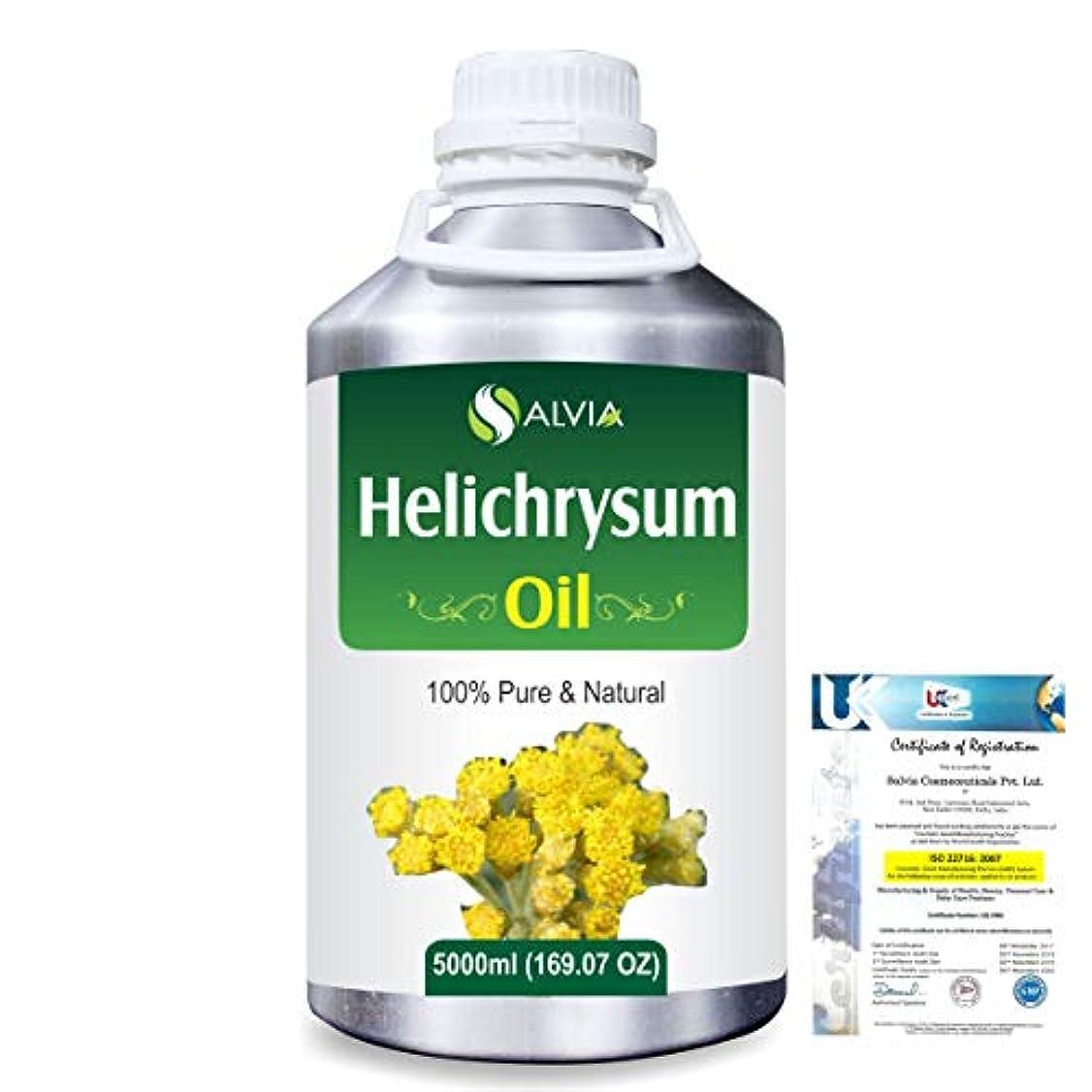 段階ウォーターフロント要旨Helichrysum (Helichrysum Italicum) 100% Pure Natural Essential Oil 5000ml/169 fl.oz.