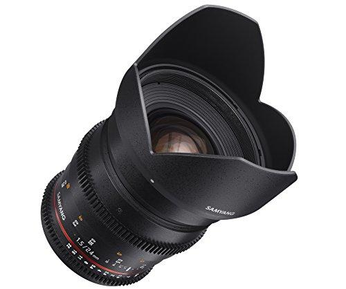 SAMYANG 動画用単焦点広角レンズ VDSLR 24mm T1.5 キヤノン EF用 フルサイズ対応