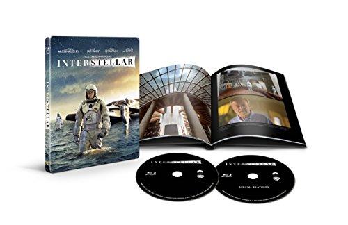 インターステラー ブルーレイ スチールブック仕様(2枚組/デジタルコピー付) [Blu-ray]の詳細を見る