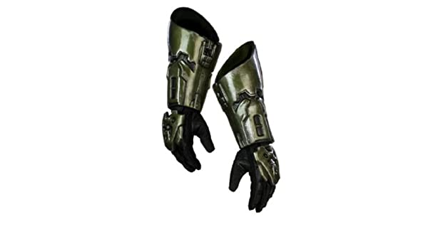 Master Chief Boot Covers Halo Fancy Dress Up Halloween Child Costume Accessory