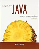 Starting Out with Java: From Control Structures through Objects plus MyLab Programming with Pearson eText -- Access Card Package (6th Edition)