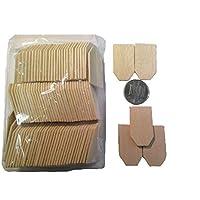 ドールハウス ミニチュア 屋根瓦材(100枚入)1-5202 角型