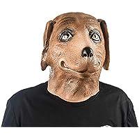 マスク マスク動物マスクフード子犬のかつら大人の男性と女性のホラーマスク