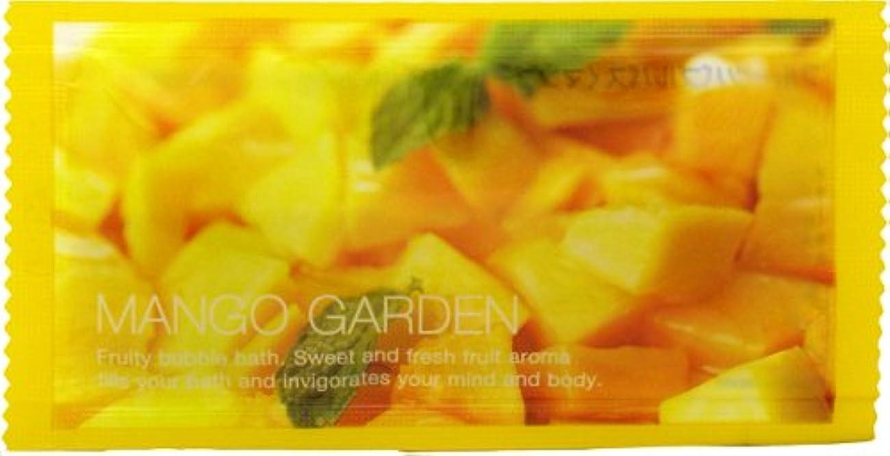 繰り返し容量叙情的なフルーツバブルバス マンゴーの香り 1P 12ml