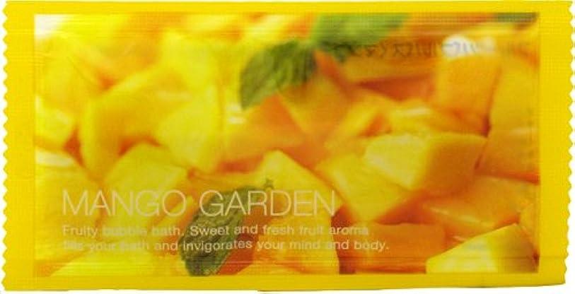 精神光沢移植フルーツバブルバス マンゴーの香り 1P 12ml