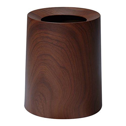 イデアコ ゴミ箱 チューブラー ローズウッド 11.4L