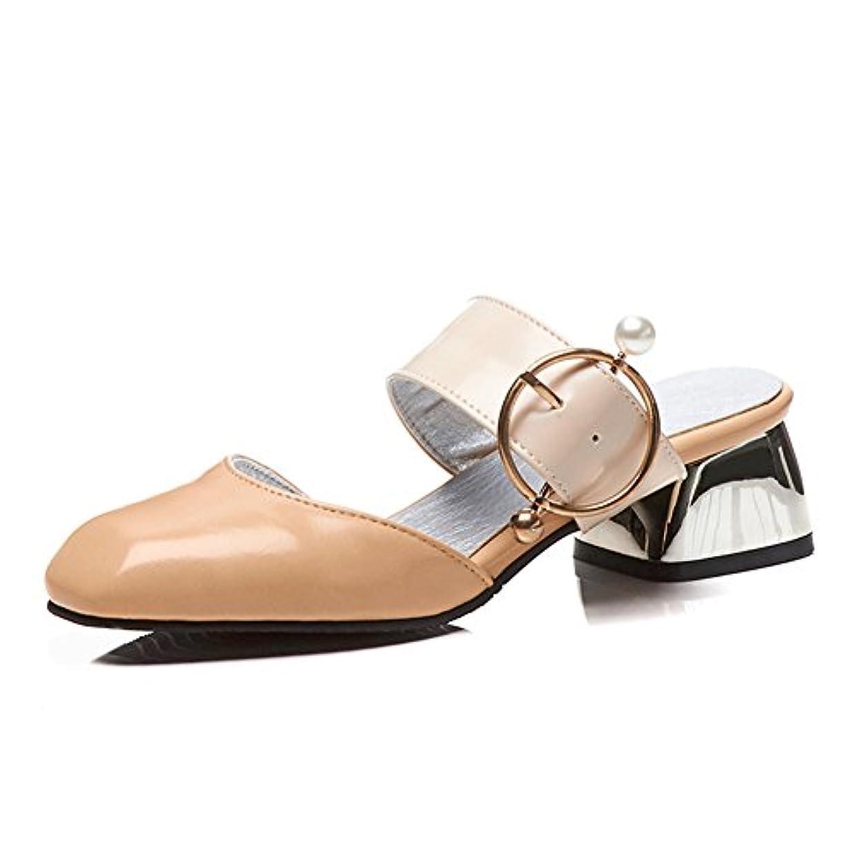 不毛の盗難協定[Exing] 女性の靴夏のファッションコンフォートサンダルチュニックヒールアウターウェアと宝塔サンダル