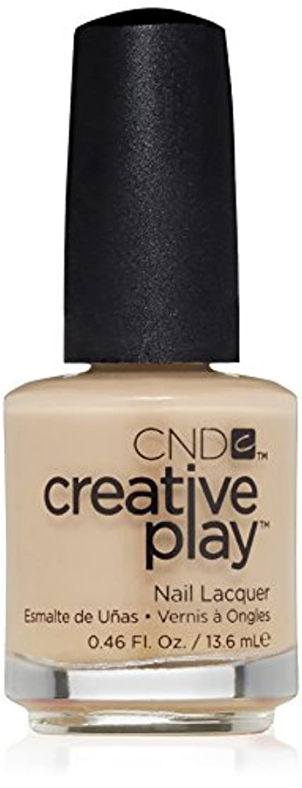 削る電気陽性政策CND Creative Play Lacquer - Clementine, Anytime - 0.46oz / 13.6ml