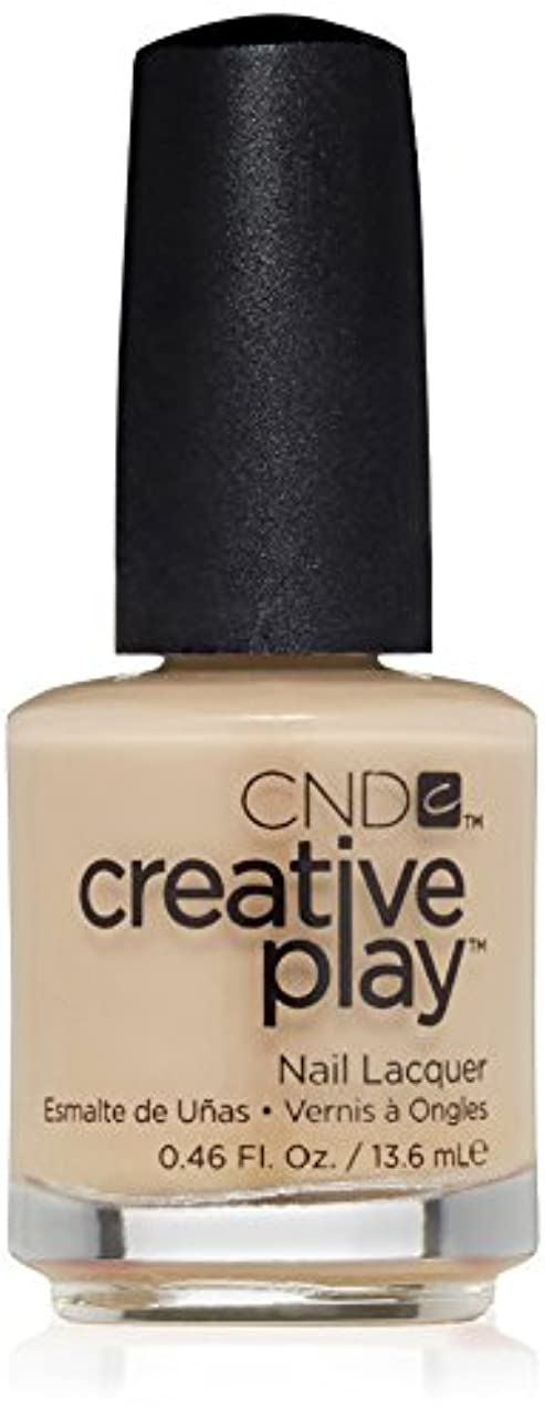 銃チャーム睡眠CND Creative Play Lacquer - Clementine, Anytime - 0.46oz / 13.6ml