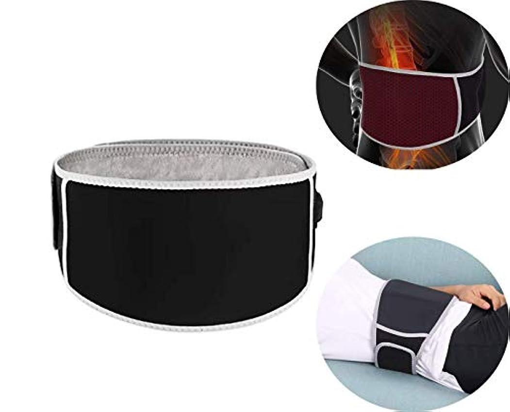 風大人通訳OBEST 腰用サポーター 腰用温熱ベルト ホットベルト 遠赤外線放射発熱 3段階温度調節 物理療法 電池別売 男女兼用