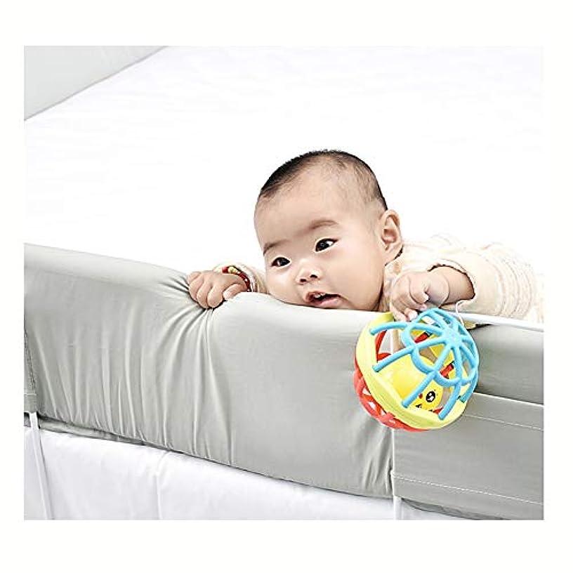 かき混ぜる主張するグラディスLIQICAI ベッドガード幼児用ベッドレール 安全ベッドフェンスユニバーサル ベッドガードレール 素晴らしい児童安全製品、 4サイズ (Color : Light green, Size : 1.8m)