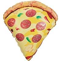 loonballoonスライスのピザパーティー25「子供誕生日Fundraiser学校イベントMylar Balloon N