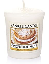 Yankee Candle Gingerbread Maple Samplers Votive Candle、Festive香り