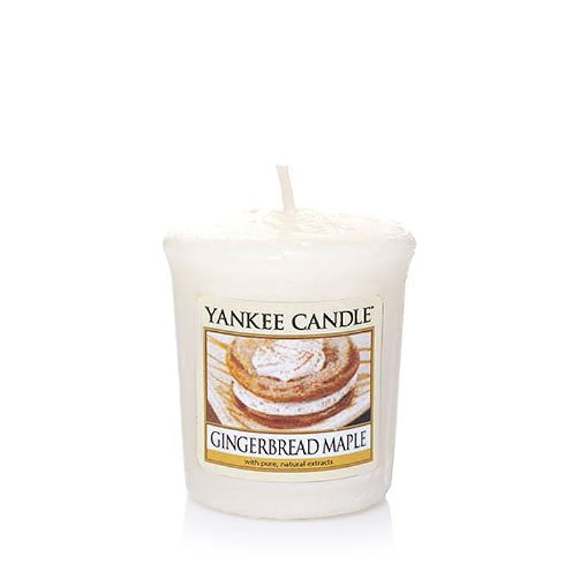 病院呼び出す情熱Yankee Candle Gingerbread Maple Samplers Votive Candle、Festive香り