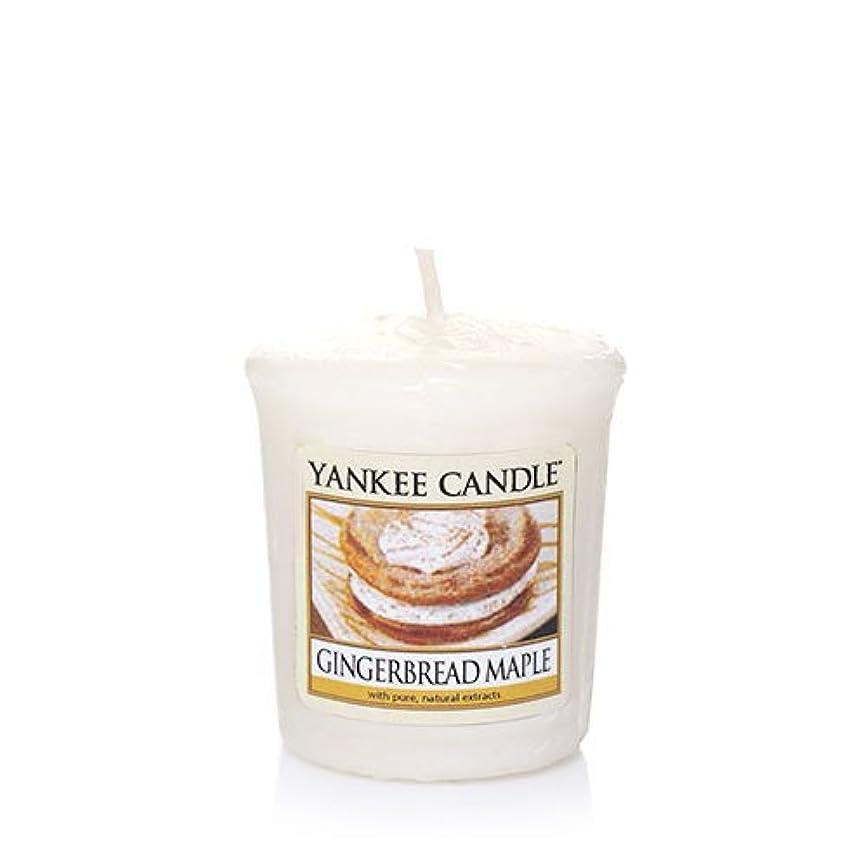 帰するアフリカ矢じりYankee Candle Gingerbread Maple Samplers Votive Candle、Festive香り