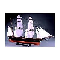 ウッディジョー 1/75 咸臨丸 帆付 木製帆船模型 組立キット