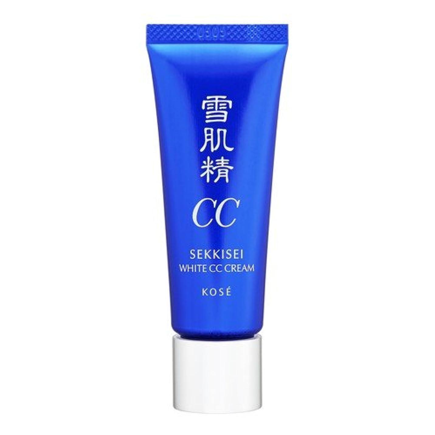 ぼかす病気の測るコーセー 雪肌精 ホワイト CCクリーム 01 ライトオークル 26ml [並行輸入品]
