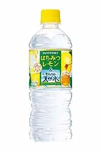 サントリー 南アルプスの天然水&はちみつレモン 550ml×12本