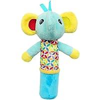 matoen Baby Handbells Rattleおもちゃソフト動物ハンドベルMusical DevelopmentalベッドToys for Kidsと子 free size Matoen-GH01