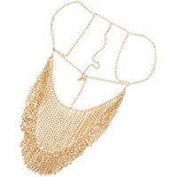 kesoto Fashion Head Chain Veil Metal Dance Party Nightclub Costume Jewelryen