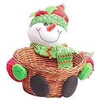 クリスマスの装飾 キャンデーのバスケット シーンの装飾 収納ボックス クリスマスのギフト