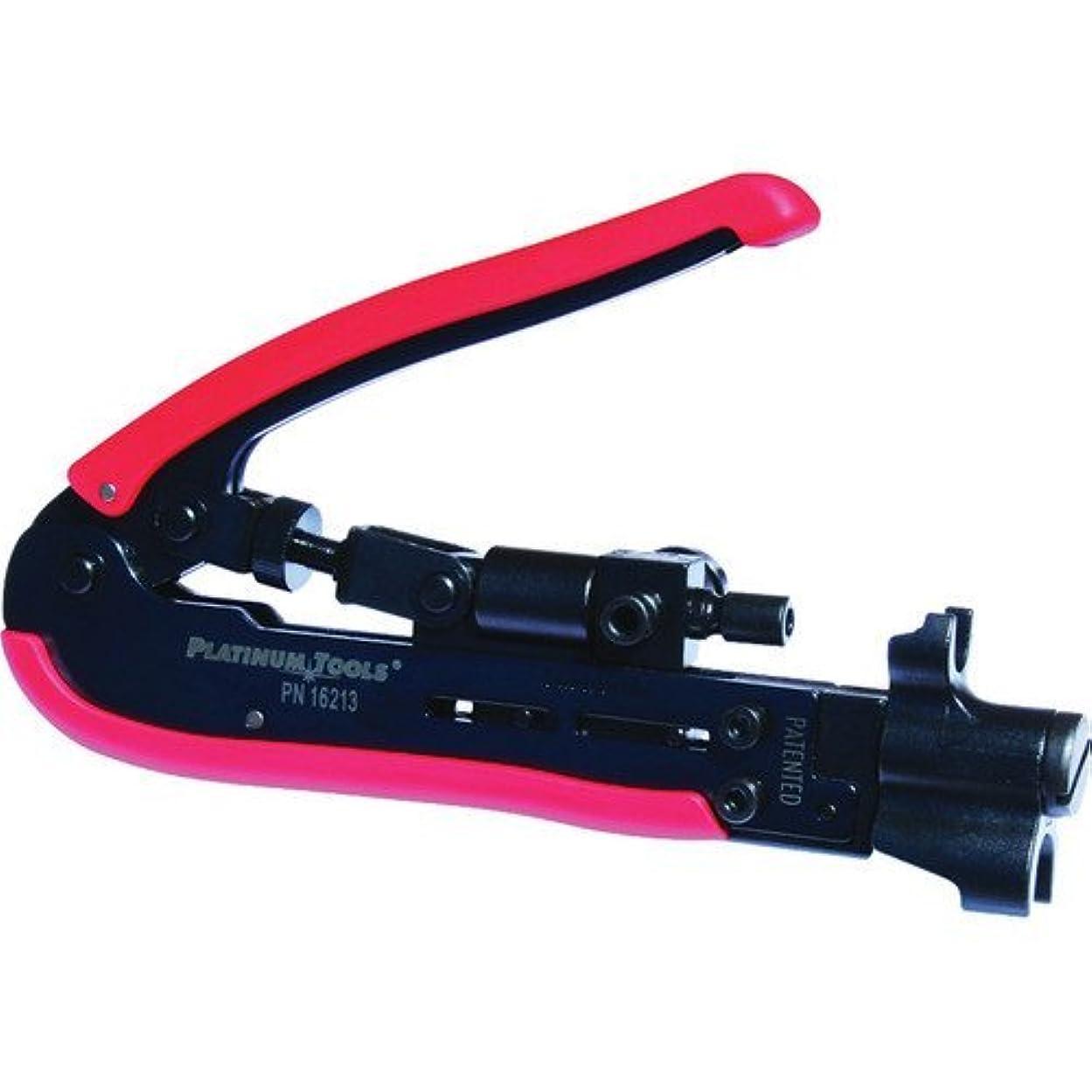 宿題心理的パンサーPlatinum Tools 16213C SealSmart Procon Compression Tool [並行輸入品]