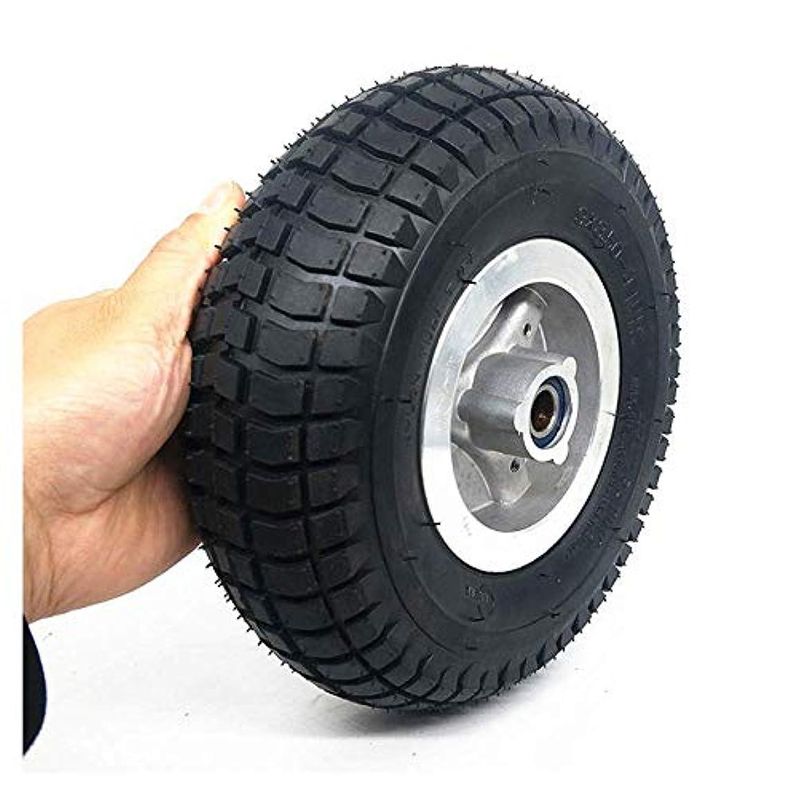 傑出した行商人ギャロップ電動スクータータイヤ、9x3.50-4ホイール、滑り止めの耐摩耗性タイヤ、内径15mm、高齢者スクーター/三輪車に最適