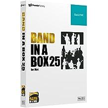PG Music ピージーミュージック 自動作曲アプリBand-in-a-Box 25 for Mac BasicPAK バンド・イン・ア・ボックス Mac版