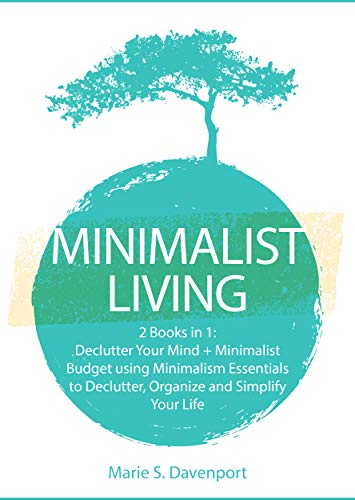 amazon minimalist living 2 books in 1 declutter your mind
