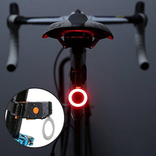 自転車 テールライトUSB充電...