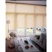 カーテン 防炎機能もついているので、もしもの時の備えも万全 家具 おしゃれ 窓 目隠し?日除け 間仕切り ロールスクリーン 無地 防炎90×220cm ココ