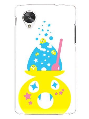 ネクサス5 Nexus5 カバー ネクサス5 ケース カキ氷 ネクサス5