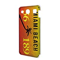 miraie f KYV39 ケース ハードケース [ナンバー・マイアミ MIAMI] ビンテージ USA キュアフォン ピーエックス スマホケース 携帯カバー [FFANY] license-h171@03