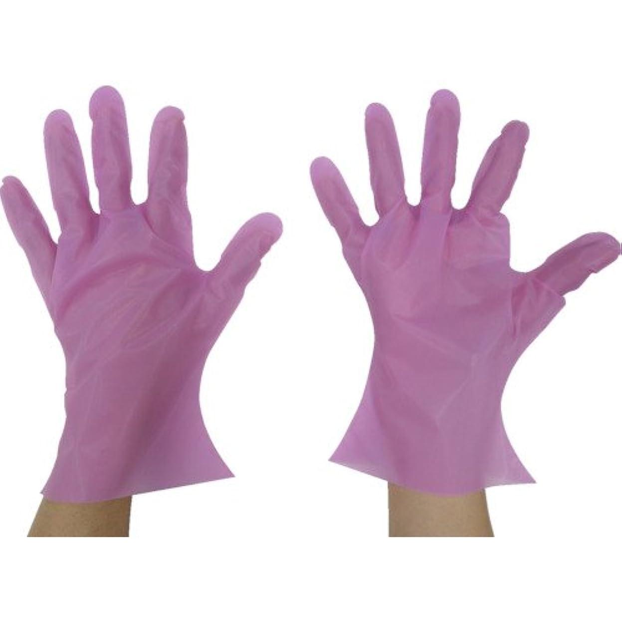 柔らかい足はい友情東京パック マイジャストグローブエコノミー化粧箱L ピンク(入数:200枚) PMJEK-L