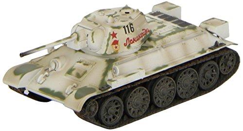 1/72 T-34/76 1943 冬季迷彩 (完成品)