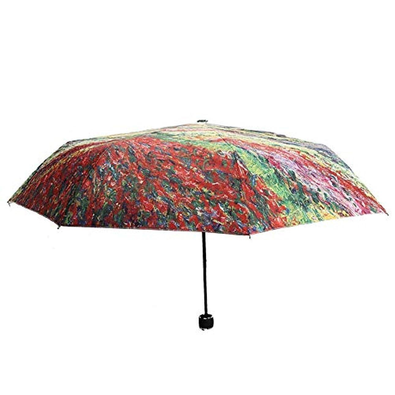合計飽和するなかなかOpliy 屋外の太陽の傘折りたたみ傘太陽の保護傘30%シルバーグルー風車パターン 品質保証