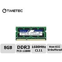 Timetec Hynix IC 8 GB ノートPC用メモリ DDR3L 1600 MHz PC3L 12800 Laptop memory upgrade 永久保証 (8GB)